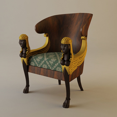 Babylon Armchair 3D Model