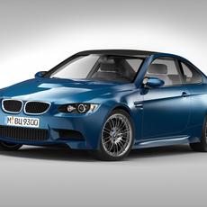 BMW M3 E92 Coupe (2010 - 2012) 3D Model