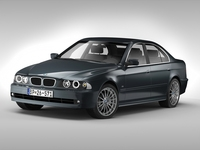 BMW 5 Series E39 (1995-2003) 3D Model