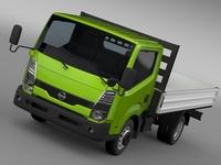 Nissan Atlas Chassi Tipper 2015 3D Model