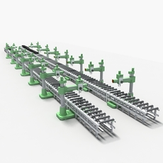 Production line Equipment02 3D Model