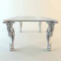 Strange kitchen table 3D Model