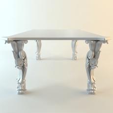 Strange kitchen table 3D Model
