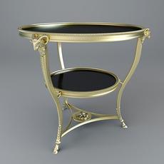 Goat-legged table-stand 3D Model