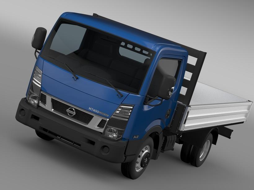 Nissan NT400 Tipper 2016 3D Model