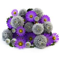 Lying bouquet 3D Model