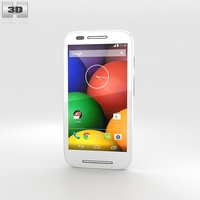 Motorola Moto E White 3D Model