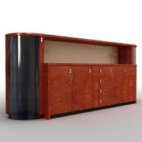 Directoria Romano Cabinet RM 300123 3D Model