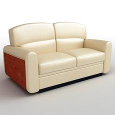 Directoria Sofa 3D Model