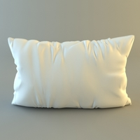 Throw Pillow 3D Model