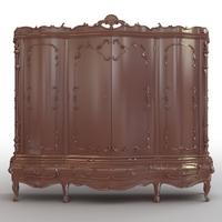 Bedroom Cabinet 3D Model