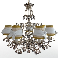Classical chandelier 3D Model