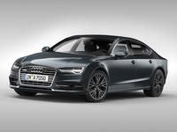 Audi A7 Sportback (2015) 3D Model