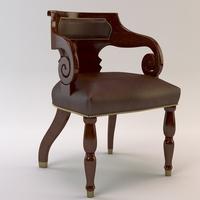 Elegant chair 3D Model
