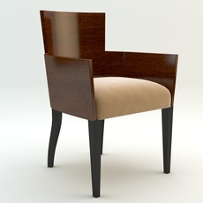 Simple armchair 3D Model