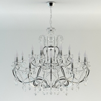 Classic Ceiling Chandelie 3D Model
