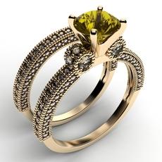 2 rings 3D Model