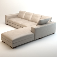 Asnaghi Leonardo grand hotel sofa 3D Model