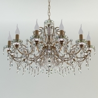 Classic Ceiling Chandelier 3D Model