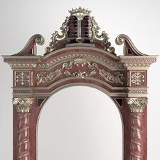 Jewish sacred gate 3D Model