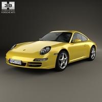 Porsche 911 Carrera (997) 2005 3D Model