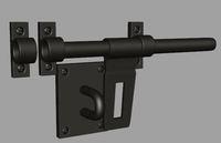 Free Doorlock 3D Model