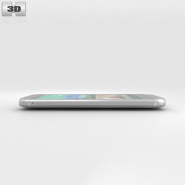 HTC One Mini 2 Glacial Silver 3D Model