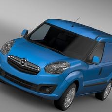 Opel Combo SWB Cargo 2015 (D) 3D Model