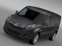 Vauxhall Combo H1L2 Cargo 2015 3D Model