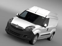 Vauxhall Combo H2L2 Cargo 2015 3D Model