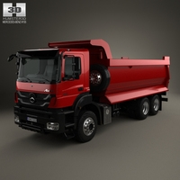 Mercedes-Benz Axor Tipper Truck 2005 3D Model