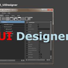 Maya sdd_UIDesigner stand-alone for Maya 1.3.0 (maya script)