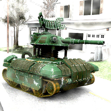Drone Tank 1.0.1 for 3dsmax