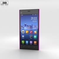 Xiaomi MI-3 Pink 3D Model