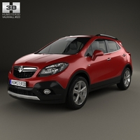 Vauxhall Mokka 2013 3D Model