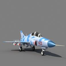 JL-9 trainer 3D Model