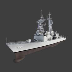 KeeLung Class Destroyer 3D Model