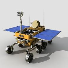 Lunar rove 3D Model