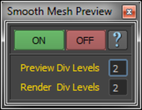 Smooth Mesh Preview 2.0.0 for Maya (maya script)