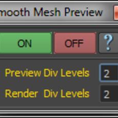 Smooth Mesh Preview for Maya 2.0.0 (maya script)