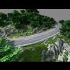 Mountain road 3D Model