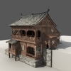 12 53 12 945 chinese old wooden house01 4