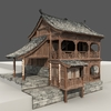 12 53 13 866 chinese old wooden house02 4