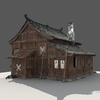 12 53 14 925 chinese old wooden house04 4