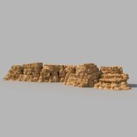 Desert Rock 03 3D Model