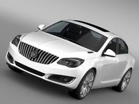 Buick Regal FlexFuel 2015 3D Model