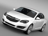 Opel Insignia 2015 3D Model