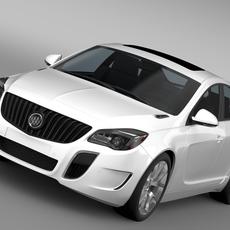 Buick Regal GS 2015 3D Model
