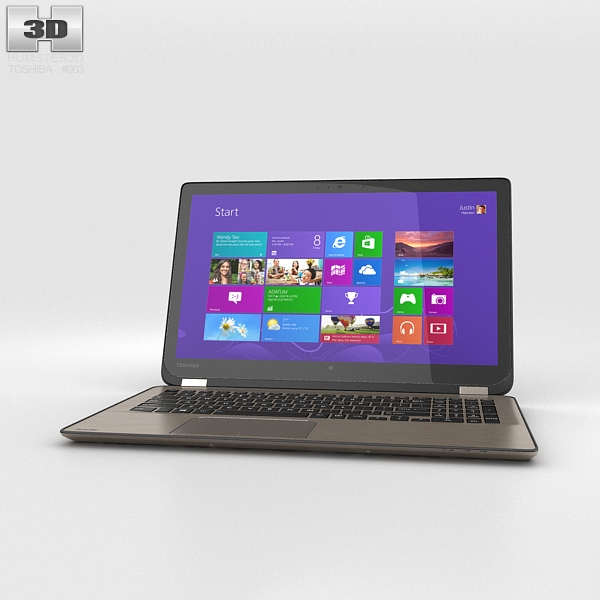 Toshiba Satellite P50W 3D Model