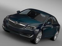 Opel Insignia ECOFlex 2015 3D Model
